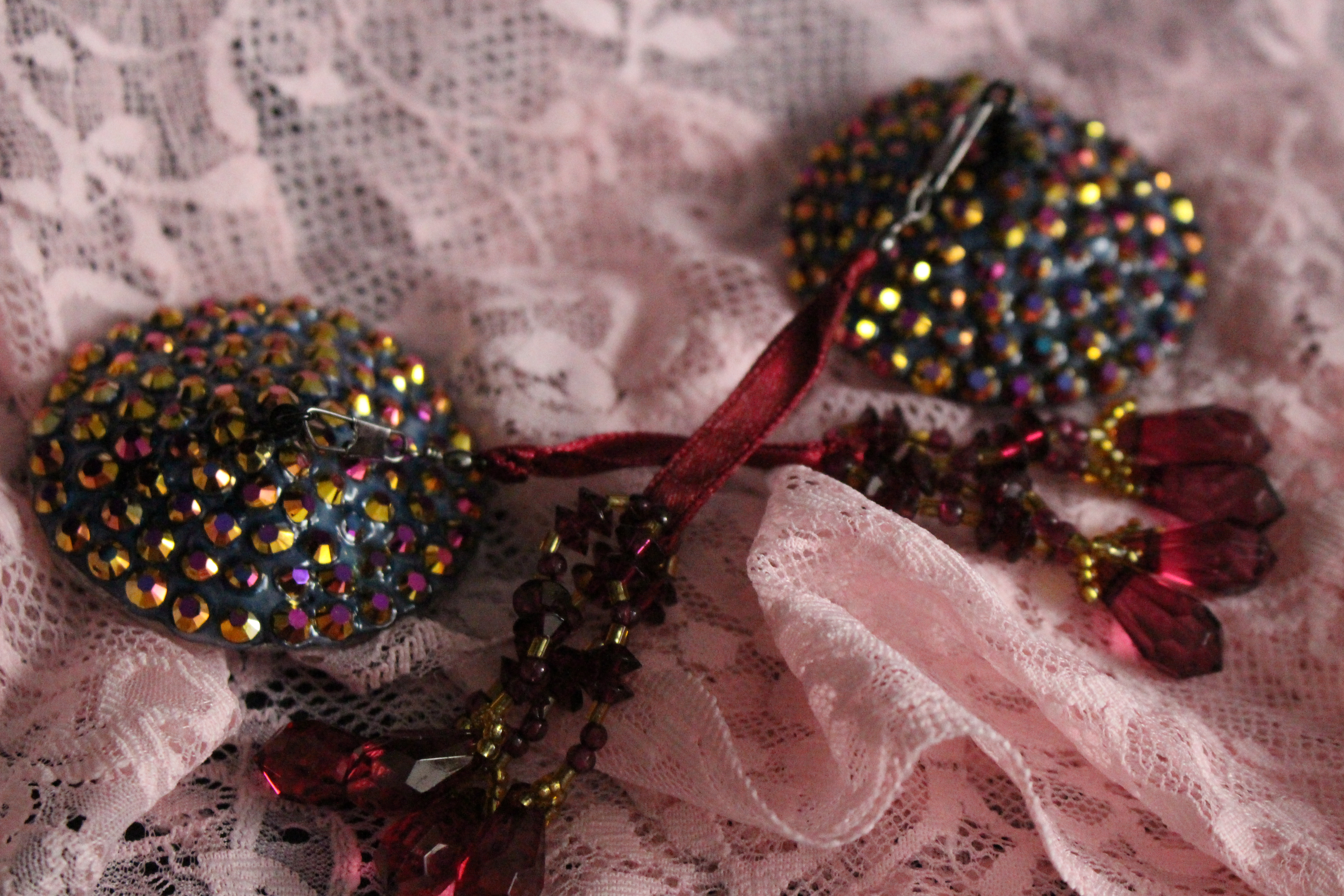 Gold Blush Jelly AB Pasties